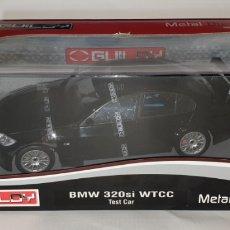 Coches a escala: 1:18 BMW 320SI WTCC TEST CAR-NEGRO- GUILOY. Lote 163948274