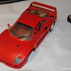 Coches a escala: FERRARI F-40 BURAGO ESCALA 1/18 1987 MADE IN ITALY. Lote 164744234