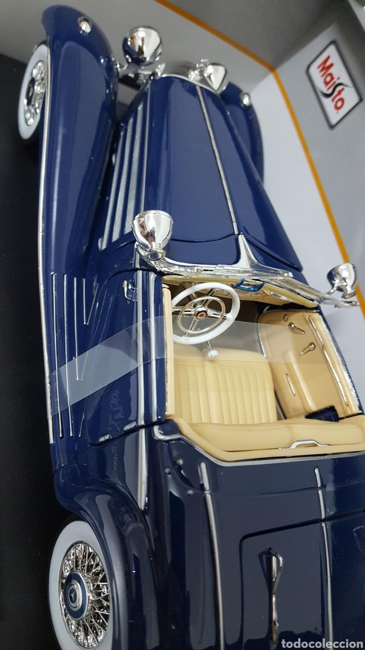 Coches a escala: Mercedes 500K de 1936. E 1/18 . - Foto 3 - 165261706