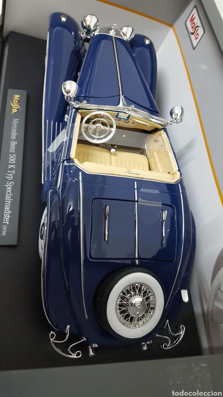 Coches a escala: Mercedes 500K de 1936. E 1/18 . - Foto 5 - 165261706