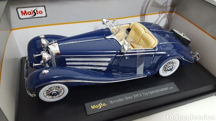 Coches a escala: Mercedes 500K de 1936. E 1/18 . - Foto 6 - 165261706