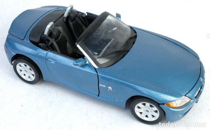 Coches a escala: Coche BMW Z4 Escala 1/18 Motor Max - Foto 2 - 166318774