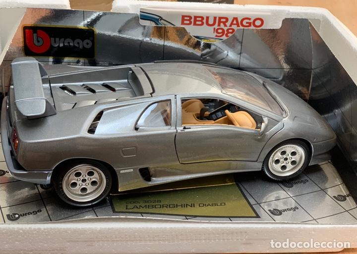 Bburago Lamborghini Diablo 1990 Coche A Escala 1 18 De 1998