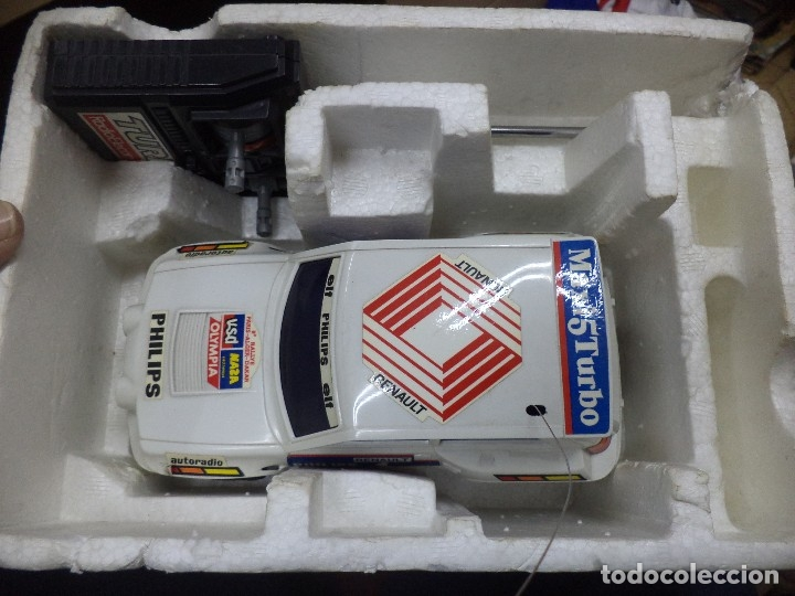 Coches a escala: Renault 5 Maxi Turbo esc.1/18 radiocontrol.Shinsei años 80. - Foto 3 - 169153821