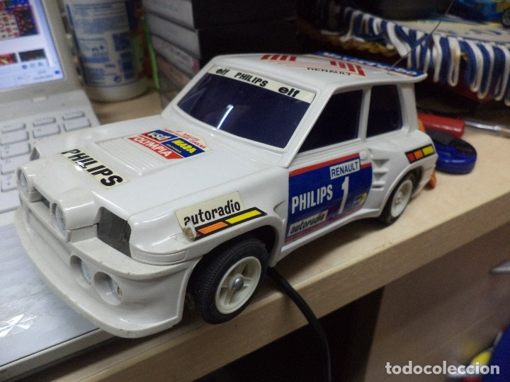 Coches a escala: Renault 5 Maxi Turbo esc.1/18 radiocontrol.Shinsei años 80. - Foto 4 - 169153821