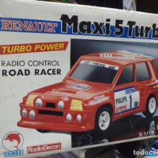 Coches a escala - Renault 5 Maxi Turbo esc.1/18 radiocontrol.Shinsei años 80. - 169153821