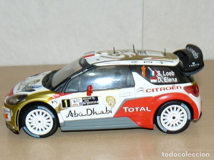 CITROËN DS3 WRC Nº 1 RALLY ARGENTINA S. LOEB - D. ELENA 1:18 SCALE 1/18 DIECAST (Juguetes - Coches a Escala 1:18)