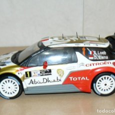 Coches a escala: CITROËN DS3 WRC Nº 1 RALLY ARGENTINA S. LOEB - D. ELENA 1:18 SCALE 1/18 DIECAST. Lote 170124844