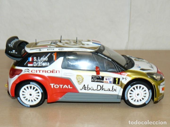 Coches a escala: CITROËN DS3 WRC Nº 1 Rally Argentina S. Loeb - D. Elena 1:18 scale 1/18 diecast - Foto 3 - 170124844