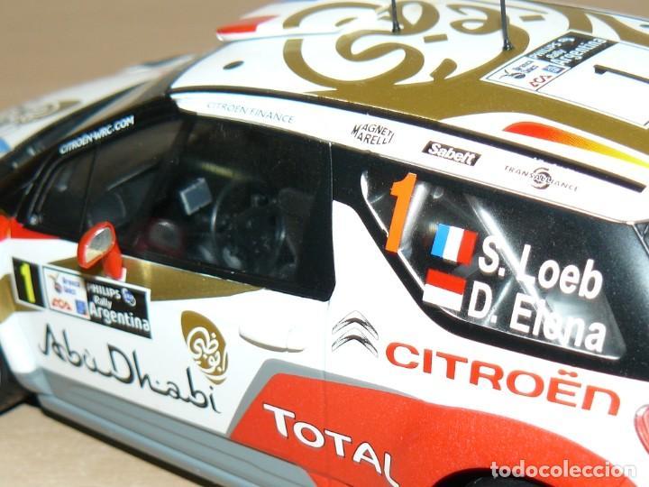 Coches a escala: CITROËN DS3 WRC Nº 1 Rally Argentina S. Loeb - D. Elena 1:18 scale 1/18 diecast - Foto 6 - 170124844