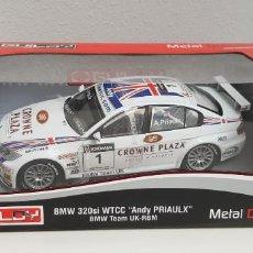 Coches a escala: JJ-BMW 320SI WTCC ANDY PRIAULX BMW TEAM UK-RBM 1:18 GUILOY NUEVO A ESTRENAR!!!. Lote 170161096
