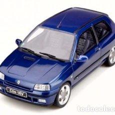 Coches a escala: RENAULT CLIO 16V PHASE II 1995 ESCALA 1/18 DE OTTO MOBILE. Lote 171141632
