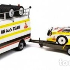 Coches a escala: RALLY SET PORTUGAL AUDI TEAM ESCALA 1/18 DE OTTO MOBILE. Lote 183174611