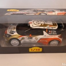 Coches a escala: CITROEN DS3 WRC ALTAYA 1:18. Lote 171507517