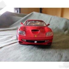 Coches a escala: BURAGO FERRARI 500 MARANELLO 1996 1/18 VER FOTOS PARA ESTADO. Lote 171763720