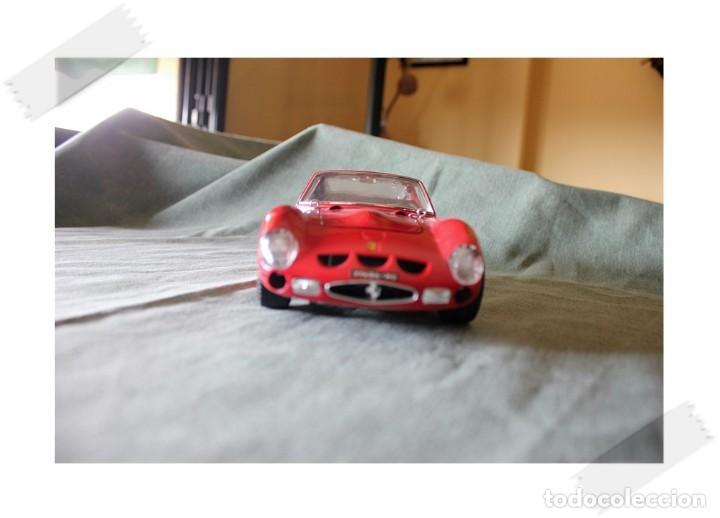 BURAGO FERRARI GTO 1962 1/18 VER FOTOS PARA ESTADO (Juguetes - Coches a Escala 1:18)