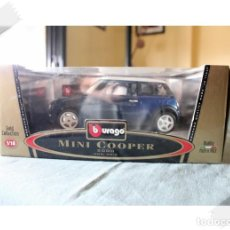 Coches a escala: BURAGO MINI COOPER 2000 1/18 VER FOTOS PARA ESTADO. Lote 171764310