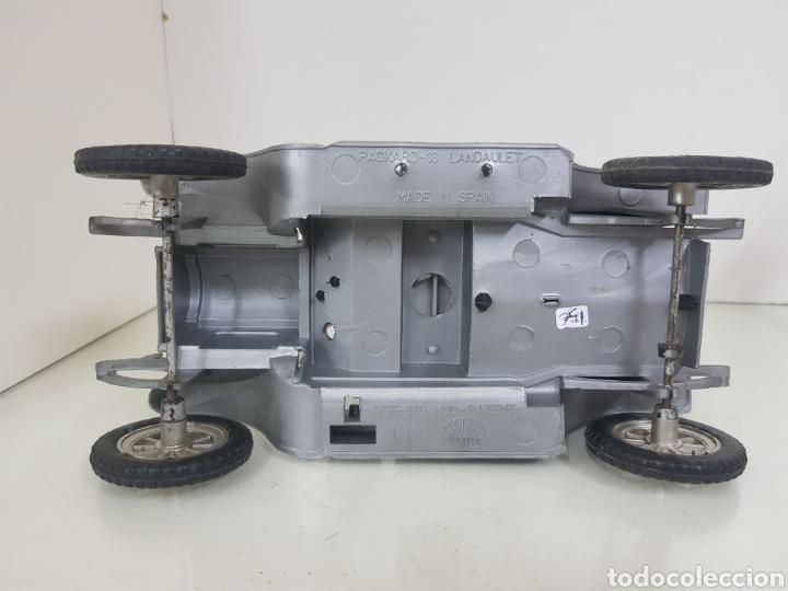 Coches a escala: Nacoral Packard 18 Landaulet fabricado en España posible escala 1/18 de plástico de 25 x Kiss 12,5cm - Foto 5 - 172162988