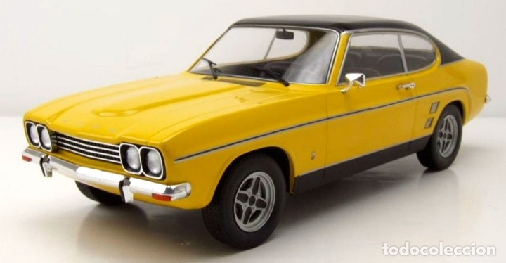 Coches a escala: Ford Capri MKI 3000 GXL 1973 escala 1/18 de MCG - Foto 9 - 194154767