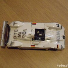 Carros em escala: COCHE A ESCALA 1:18 BMW V12 ESTILO LEMANS. LOGO WHAT I WANT # 16 F537. Lote 177192952