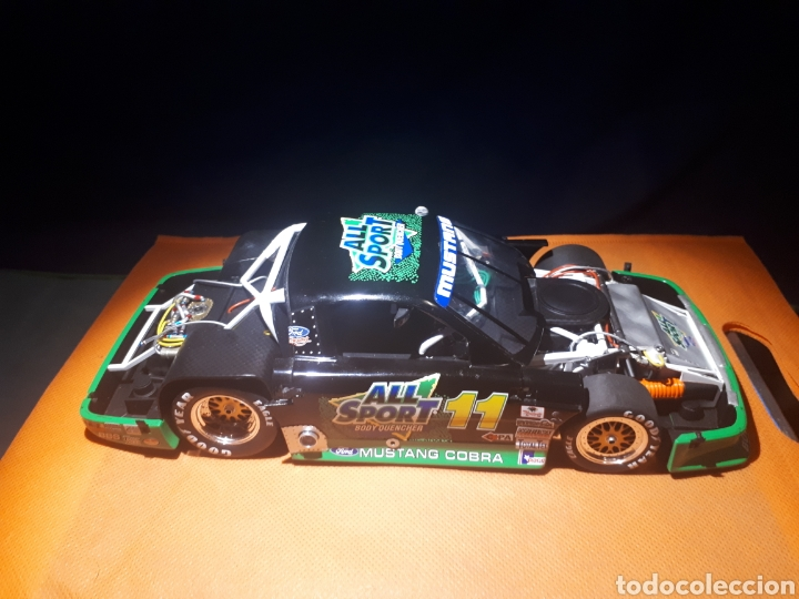 Coches a escala: GMP FORD MUSTANG 1:18 ALL SPORT 11 TRANS-AM de TOMMY KENDALL (PLACA DE MUESTRA# SAMPLE#)PROTOTIPO - Foto 4 - 177955508