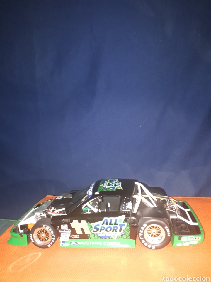 Coches a escala: GMP FORD MUSTANG 1:18 ALL SPORT 11 TRANS-AM de TOMMY KENDALL (PLACA DE MUESTRA# SAMPLE#)PROTOTIPO - Foto 7 - 177955508