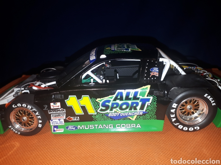 Coches a escala: GMP FORD MUSTANG 1:18 ALL SPORT 11 TRANS-AM de TOMMY KENDALL (PLACA DE MUESTRA# SAMPLE#)PROTOTIPO - Foto 10 - 177955508