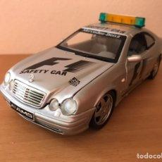 Coches a escala: PRECIOSO COCHE MERCEDES CLK SAFETY CAR F1 1:18. Lote 180128610