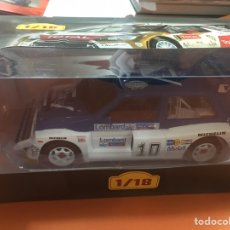 Coches a escala: MG RALLY ESCALA 1/18 ALTAYA. Lote 180517723