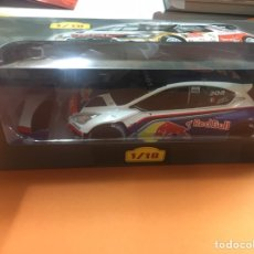 Coches a escala: PEUGEOT 208 RED BULL ALTAYA ESCALA 1/18. Lote 180517806