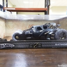 Coches a escala: HOT WHEELS BATMOBILE 1:18 VEHÍCULO EXCLUSIVO HOT WHEELS. Lote 181410995