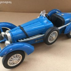 Coches a escala: COCHE BUGATTI TYPE 69 AZUL BBURAGO ESCALA 1:18 - MADE IN ITALY - ORIGINAL BURAGO. Lote 183576946