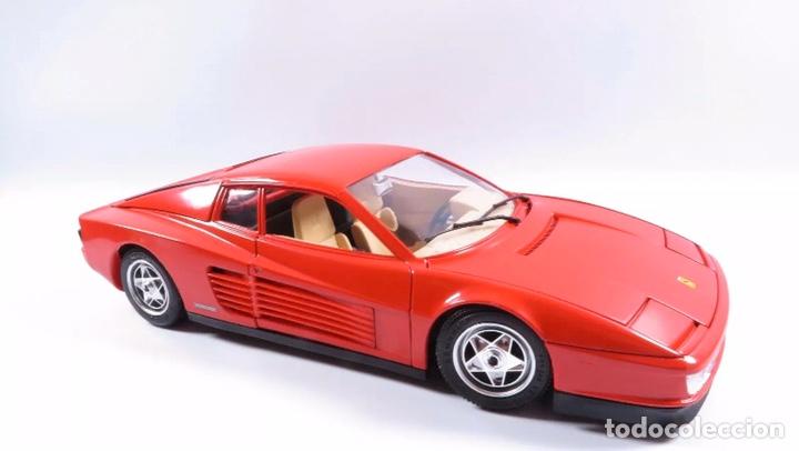 Coches a escala: Precioso coche FERRARI TESTAROSSA Burago 1:18 - Foto 2 - 184464053
