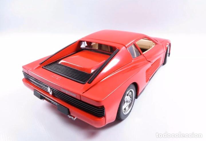 Coches a escala: Precioso coche FERRARI TESTAROSSA Burago 1:18 - Foto 3 - 184464053