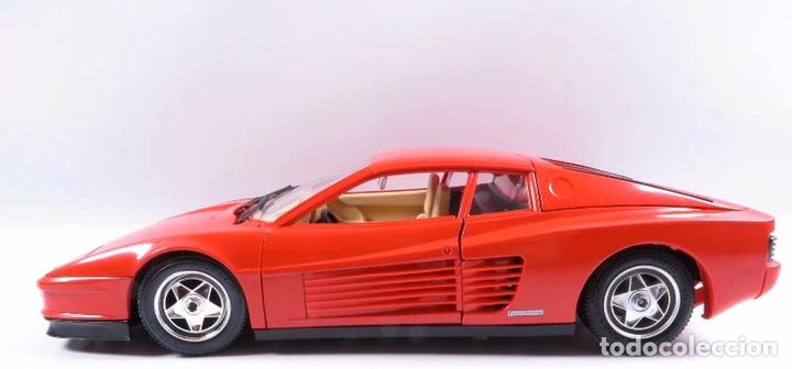 Coches a escala: Precioso coche FERRARI TESTAROSSA Burago 1:18 - Foto 5 - 184464053
