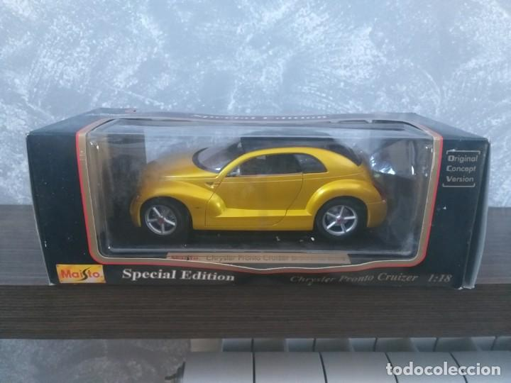 Coches a escala: coche maisto special edition chrysler pronto cruizer escala 1:18 en caja - Foto 1 - 186110268