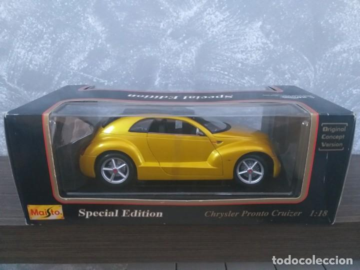 Coches a escala: coche maisto special edition chrysler pronto cruizer escala 1:18 en caja - Foto 2 - 186110268