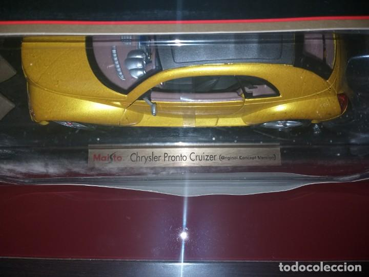 Coches a escala: coche maisto special edition chrysler pronto cruizer escala 1:18 en caja - Foto 3 - 186110268