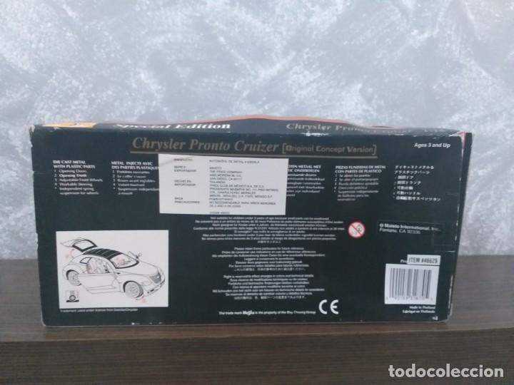 Coches a escala: coche maisto special edition chrysler pronto cruizer escala 1:18 en caja - Foto 5 - 186110268