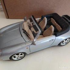 Coches a escala: BURAGO PORSCHE CARRERA 911 1993 1/18. Lote 189670468