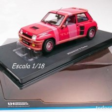 Coches a escala: UNIVERSAL HOBBIES RENAULT 5 TURBO RED. Lote 191128537