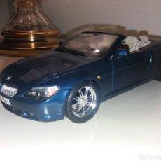 Coches a escala: BMW 645 CI 1/18 MAISTO MODIFICADO. Lote 191538406