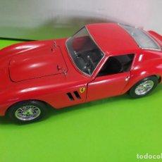 Coches a escala: BURAGO FERRARI GTO 1962 1/18 MADE IN ITALY. Lote 192164975