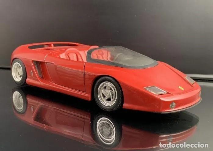 Coches a escala: Ferrari Mythos en escala 1:18, de Rewel, versión convertible. Sin usar, con caja original. - Foto 2 - 194359352