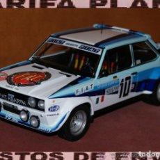 Coches a escala: FIAT 131 ABARTH RALLYE DE MONTECARLO 1980 W. ROHRL - CH. GEISTDORFER ESCALA 1:18 DE ALTAYA EN SU CAJ. Lote 194511245