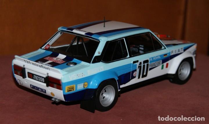 Coches a escala: FIAT 131 ABARTH RALLYE DE MONTECARLO 1980 W. ROHRL - CH. GEISTDORFER ESCALA 1:18 DE ALTAYA EN su CAJ - Foto 4 - 194511245