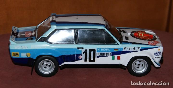 Coches a escala: FIAT 131 ABARTH RALLYE DE MONTECARLO 1980 W. ROHRL - CH. GEISTDORFER ESCALA 1:18 DE ALTAYA EN su CAJ - Foto 5 - 194511245