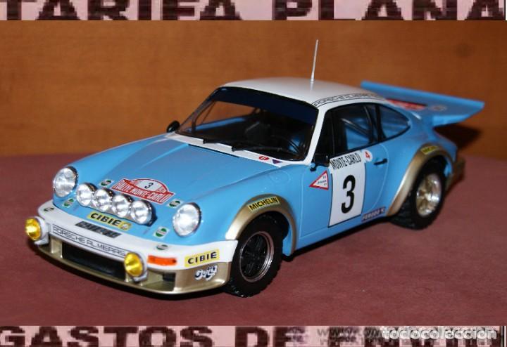 PORSCHE 911 CARRERA RALLYE DE MONTECARLO 1978 J.P. NICOLAS ESCALA 1:18 DE ALTAYA EN SU CAJA (Juguetes - Coches a Escala 1:18)