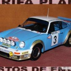 Coches a escala: PORSCHE 911 CARRERA RALLYE DE MONTECARLO 1978 J.P. NICOLAS ESCALA 1:18 DE ALTAYA EN SU CAJA. Lote 194596013