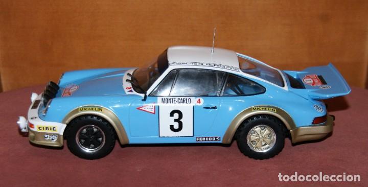 Coches a escala: PORSCHE 911 CARRERA RALLYE DE MONTECARLO 1978 J.P. NICOLAS ESCALA 1:18 DE ALTAYA EN su CAJA - Foto 2 - 194596013